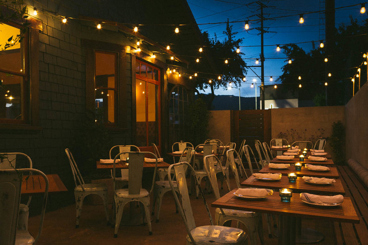 The Best Outdoor Dining Options In Los Angeles The Hollywood