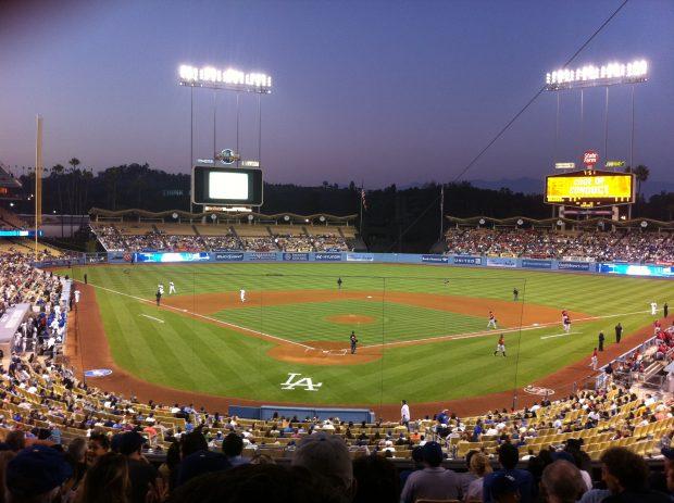 Dodger_Stadium_-_August_2011