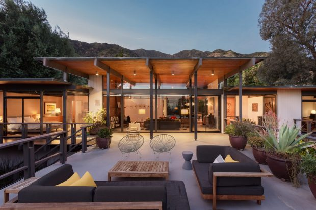 Iconic pasadena post and beam 1615 hastings ranch drive for Post and beam ranch homes