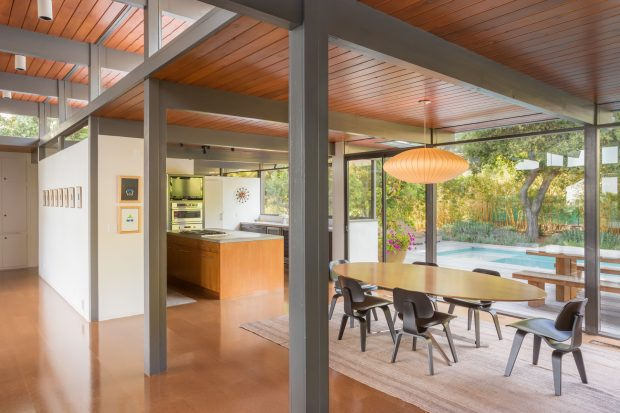 Iconic Pasadena Post And Beam 1615 Hastings Ranch Drive The Hollywood Home