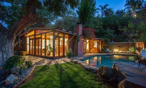 Romantic Mid Century Hollywood Hills Cottage 7280