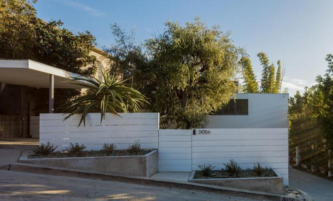 Silver Lake Home By Legendary Mid Century Architect 3056