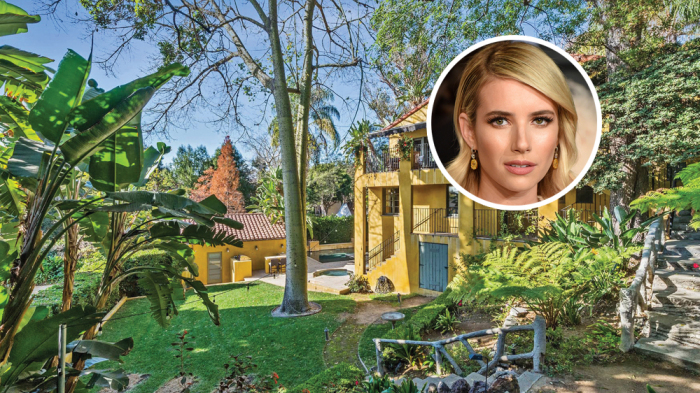 Emma Roberts Los Feliz Home The Hollywood Home The Hollywood Home
