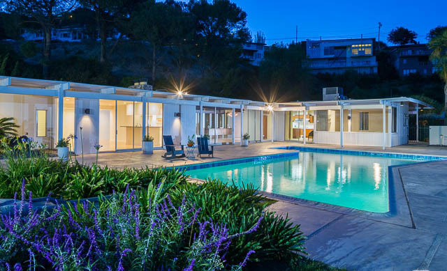 For Lease Hollywood Hills Mid Century Luxury 4 Bedroom
