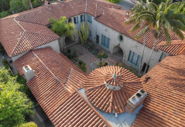 The Legendary El Cabrillo Courtyard Complex In Hollywood 1838 Grace Ave The Hollywood Home