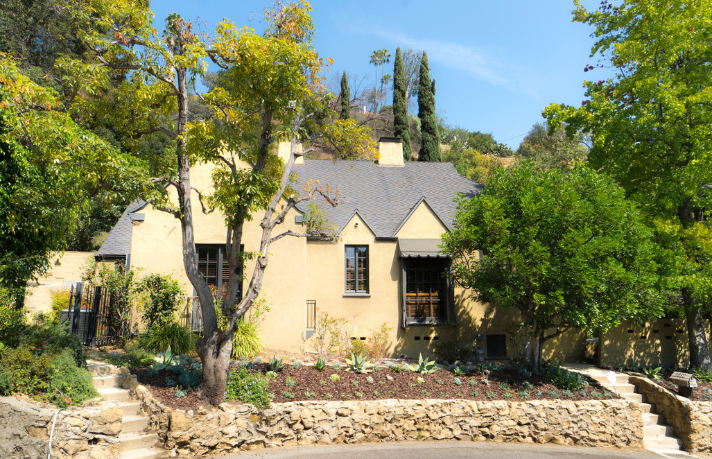 For Lease Hollywood Hills French Normandy Cottage 5 500 Mo The Hollywood Home
