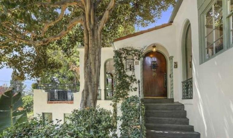 Just Sold Romantic Hillside Spanish Style Home In The