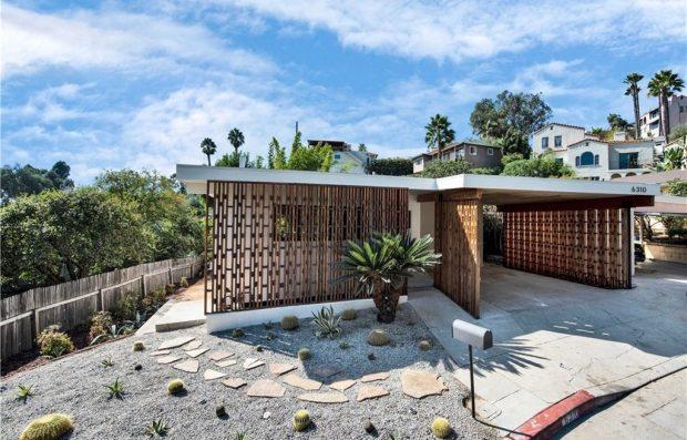 Hollywood Hills Mid Century Modern 6310 Bryn Mawr Drive